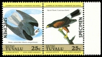 Lot 29121 [2 of 4]:1985 Birds SG #29s-36s set of 8 in se-tenant pairs, optd 'SPECIMEN'. (8)