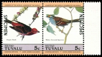 Lot 29121 [4 of 4]:1985 Birds SG #29s-36s set of 8 in se-tenant pairs, optd 'SPECIMEN'. (8)