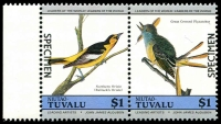 Lot 29121 [1 of 4]:1985 Birds SG #29s-36s set of 8 in se-tenant pairs, optd 'SPECIMEN'. (8)