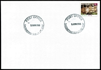 Lot 2741:Sassafras Gully: - WWW #50 33mm 'POST OFFICE/5AUG2008/SASSAFRAS GULLY VIC 3787' on 55c on unaddressed cover.  PO 1/6/1901; LPO 27/10/1993.
