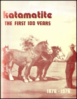 Lot 2552:Katamatite: - 'Katamatite The First 100 Years 1876-1976' by Ada Rudd, pub in 1976, 136pp softback. A range of photos.  PO 1/12/1877; LPO 15/6/1994.