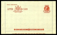 Lot 993:1949-51 2½d Red KGVI Sideface New Design BW #LC72Aa 127mm between perfs, setting 2, unused, toning on folded edge.