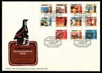 Lot 28892 [2 of 2]:1985 Pictorials complete set on Official FDC (2).
